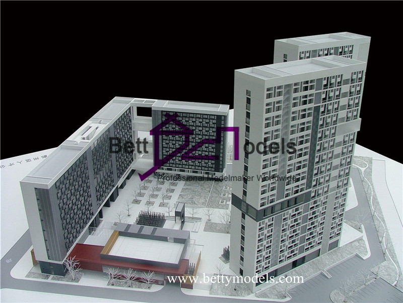 Government office building models
