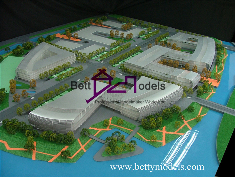 Beijing exhibition models