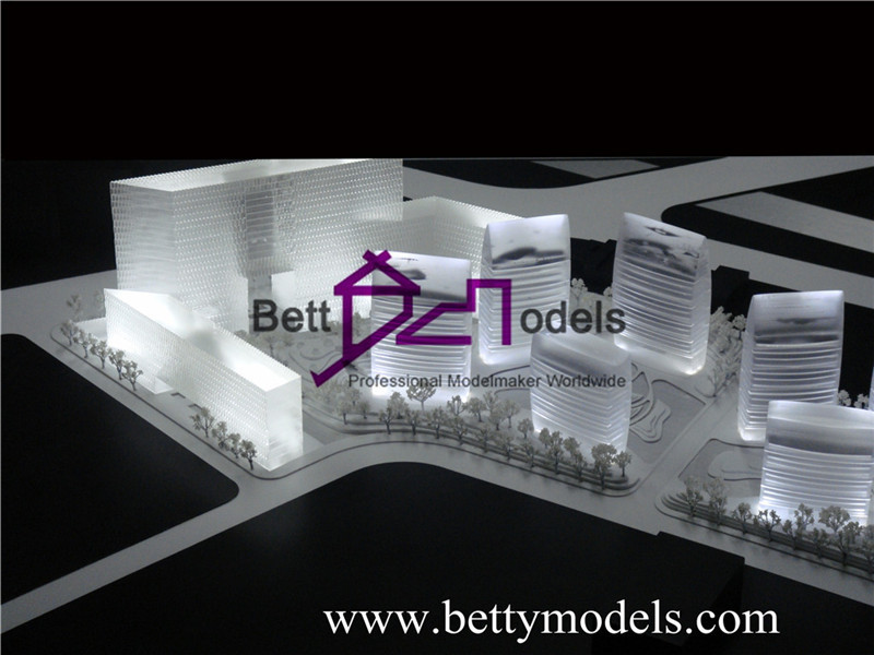 architectural concept models
