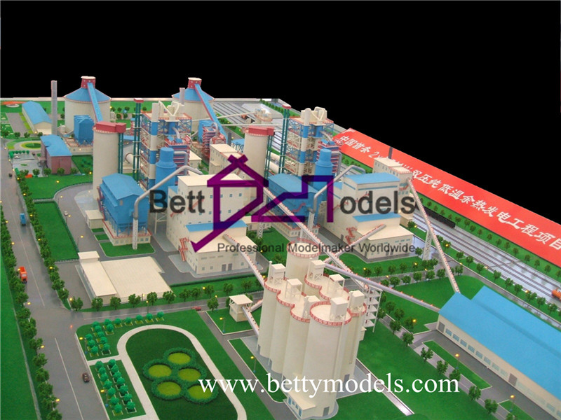 Power station scale industrial models