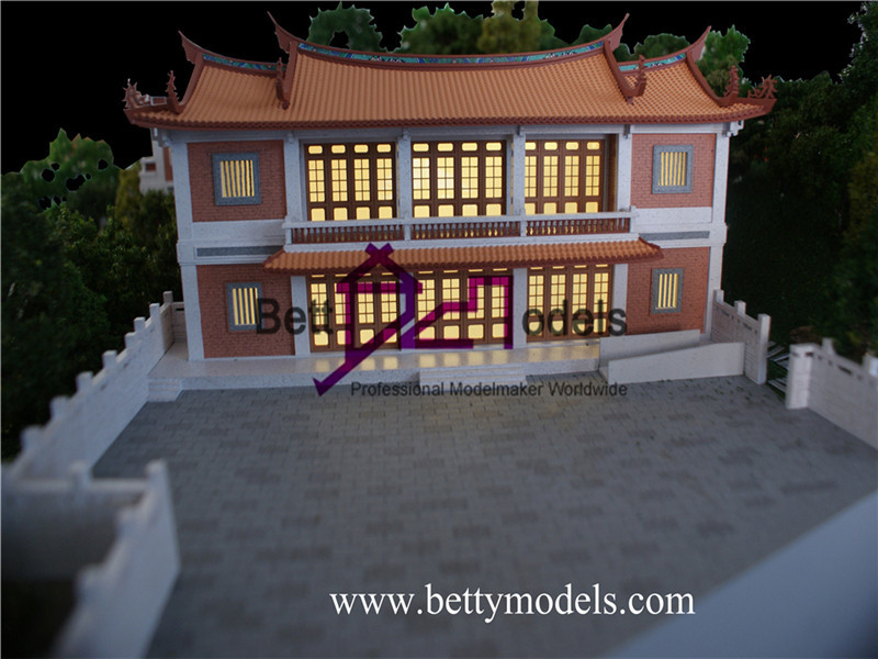 White Deer Cave temple models