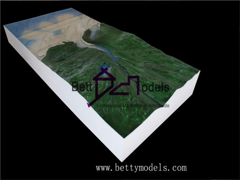 Topographic scale models