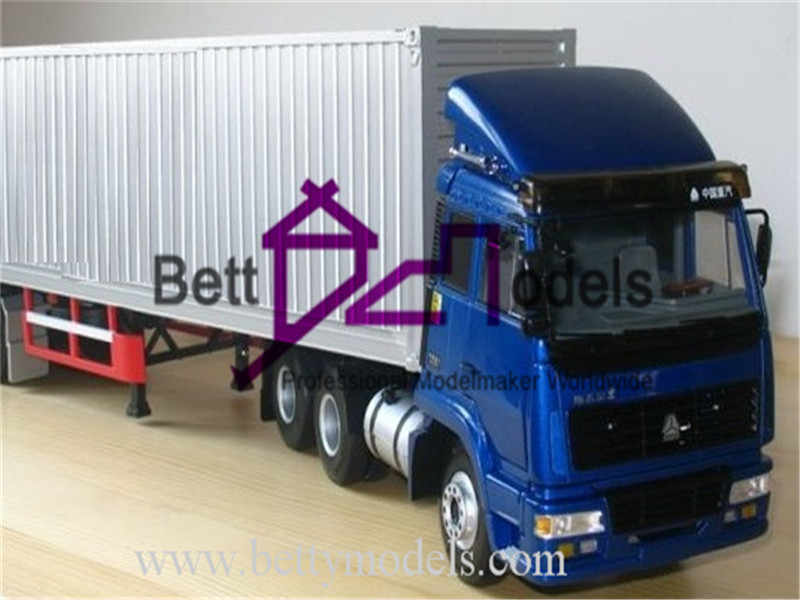 Truck scale models