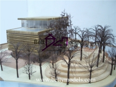 3D Scale wooden villa models