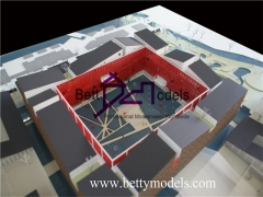 3D The butterfly Lovers Hotel conceptual models