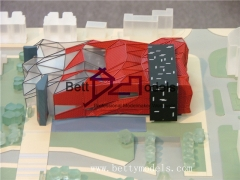 3D Cultural plaza scale models