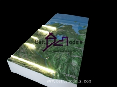 3D Hekou Topographic scale models