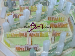 3D Huarun center garden glass models