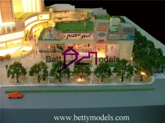 3D Shanghai downtown shopping mall models