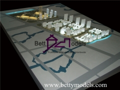 3D Jiaxing business town planning models
