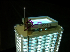 3D Blue illuminated models
