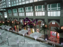 3D Italy shopping mall models