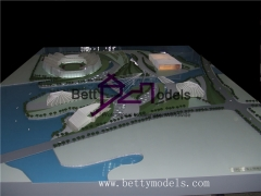 3D Shaoxing sports center models