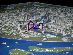 3D Shanghai city planning models