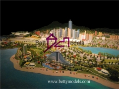 3D China city planning models