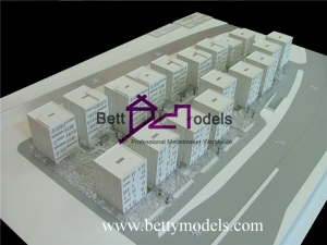 White Architectural Building Models