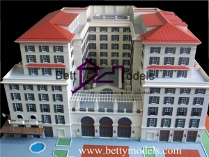 England architectural building models